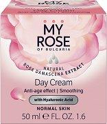 My Rose Anti-Age Effect & Smoothing Day Cream - Дневен крем за лице против стареене за нормална кожа - продукт