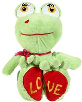 Жаба - Love - Плюшена играчка -