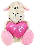 Овчица със сърце - Fun - Плюшена играчка - играчка