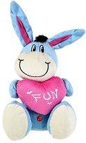 Магаренце със сърце - Fun - Плюшена играчка - играчка