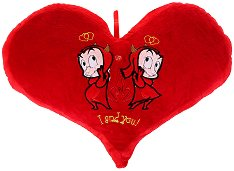 Плюшена възглавничка - И дяволчетата обичат -