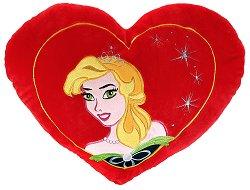 Плюшена възглавничка - Принцеса -
