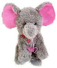 Слонче с медальони - Плюшена играчка - играчка