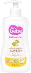 Бебешки душ гел и шампоан - С екстракт от ориз - паста за зъби
