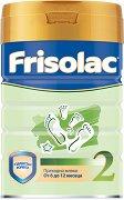Преходно мляко: Frisolac 2 - Опаковка от 400 g за бебета от 6 до 12 месеца -
