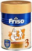Преходно мляко: Friso 3 - Опаковка от 400 g за бебета от 1 до 3 години -