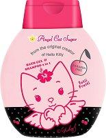 "Детски душ гел и шампоан - Angel Cat Sugar Tutii Frutti 2 in 1 - От серията ""Hello Kitty"" -"