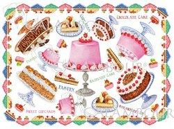 """Декупажна хартия - Торти 150 - Серия """"Digital Collection Mulberry"""""""