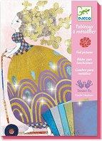 Оцветявай с цветно фолио - So pretty - Творчески комплект - играчка