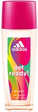 Adidas Women Get Ready - Парфюмен спрей за тяло -