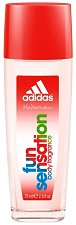 Adidas Women Fun Sensation - Парфюмен спрей за тяло -