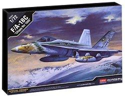 Военен самолет - F/A-18C Chippy Ho 1995 - Сглобяем авиомодел - макет