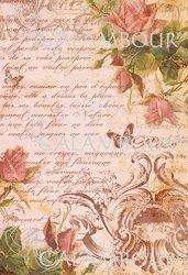 Декупажна хартия - Прелюдия от рози 175