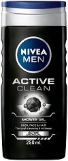 Nivea Men Active Clean Shower Gel - продукт