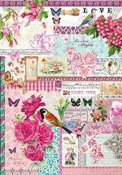 """Декупажна хартия - Парфюм от роза 225 - Серия """"Digital Collection Mulberry"""""""