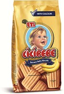 Бебешки бисквити - Cicibebe Banana - Опаковка от 190 g за бебета над 6 месеца - шише