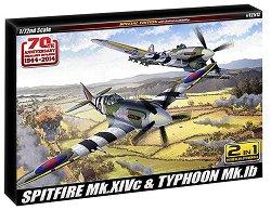 Изтребители - Spitfire Mk.XIVc & Hawker Typhoon Ib -