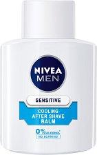 """Nivea Men Sensitive Cooling After Shave Balm - Охлаждащ балсам за след бръснене за чувствителна кожа от серията """"Sensitive"""" -"""