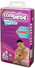 Canbebe Comfort Dry - Maxi - Пелени за еднократна употреба за бебета с тегло от 7 до 18 kg - продукт
