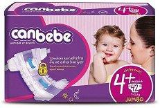 Canbebe Comfort Dry 4 - Maxi Plus - Пелени за еднократна употреба за бебета с тегло от 9 до 16 kg - продукт