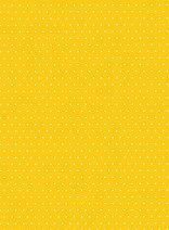Картон за скрапбукинг - Жълт на точки 01