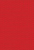Картон за скрапбукинг - Червен на точки 03