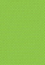 Картон за скрапбукинг - Светло зелен на точки 06