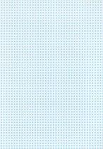 "Картон за скрапбукинг - Светло синьо каре 24 - Серия ""Happy Papers"""