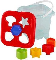 Кофичка с форми за сортиране - Образователна играчка - играчка