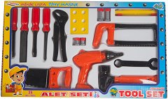 Комплект детски инструменти - играчка