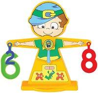 Везна за смятане - Образователна играчка - несесер