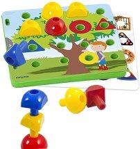 Цветни гъбки - Образователни играчки - играчка
