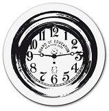Силиконов печат - Стенен часовник - Размер 5 x 6 cm -