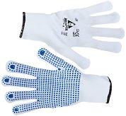 Работни ръкавици с PVC пъпки - Размер 9 (23 cm)
