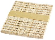 Декоративни дървени пръчици с прорези - Комплект от 50 броя