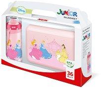 Комплект кутия за обяд и детска чаша - Принцесите на Дисни - За деца над 36 месеца -