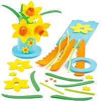 Направи сам - Вази с цветя - детски аксесоар