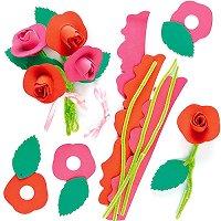 Направи сам - Букети с рози - Творчески комплект - играчка
