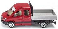 """Транспортен камион с платформа - Метална играчка от серията """"Super: Transport"""" -"""