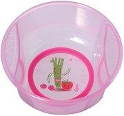 Розова купичка за хранене - За бебета над 6 месеца -