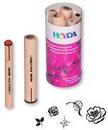 Гумени печати - Рози и листа - продукт