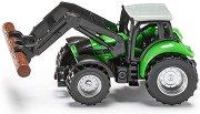"""Трактор с товарач за дърва - Deutz ag - Метална играчка от серията """"Super: Agriculture"""" -"""