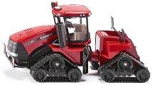 """Верижен трактор - Case IH Quadtrac 600 - Метална играчка от серията """"Farmer: Large tracktors"""" - играчка"""