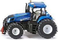 """Трактор - New Holland T8.390 - Метална играчка от серията """"Farmer: Large tracktors"""" - играчка"""