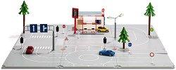 """Градски улици - Комплект за сглобяване от серията """"Siku: World"""" - играчка"""