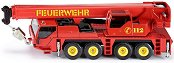 Пожарен камион с кран -