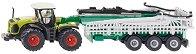 Трактор с вакуумна цистерна - Claas Xerion - количка