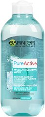 Garnier Pure Active Micellar Cleansing Water - Мицеларна вода за комбинирана към мазна и чувствителна кожа - балсам