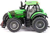 """Трактор - Deutz-fahr Agrotron 7230TTV - Метална играчка от серията """"Farmer: Large tracktors"""" - количка"""