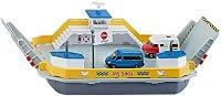 """Ферибот с два микробуса - Метални играчки от серията """"Super: Ships"""" - количка"""